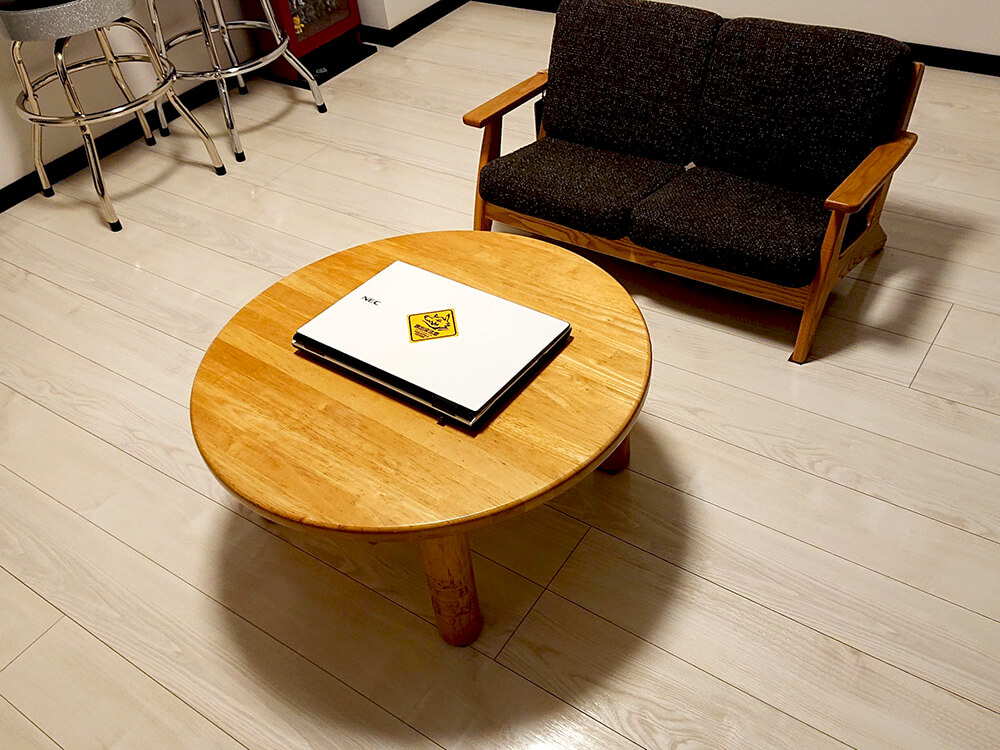 ローテーブル×ソファ×ペルシャンラグ